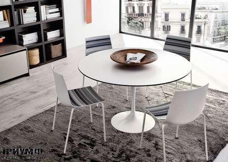 Итальянские кухни Copat  - стол и стулья saturno