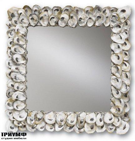 Американская мебель Currey and Company - Oyster Shell Mirror
