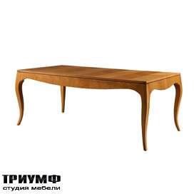 Итальянская мебель Morelato - Стол на фигурной ноге