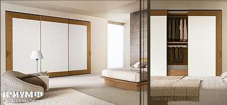 Итальянская мебель Map - Шкаф Inside T20 раздвижные двери, с широкой рамой