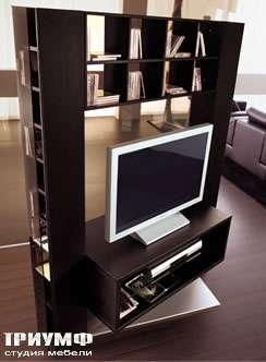 Итальянская мебель Longhi - стенка под TV broadway2