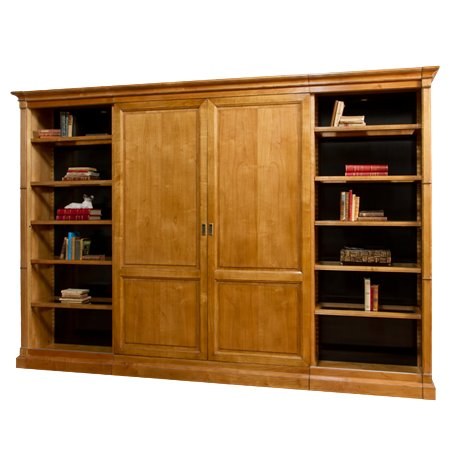 Американская мебель French Heritage - Bercy Sliding Door Bookcase