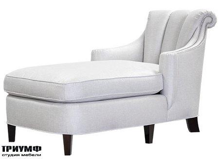 Американская мебель Kindel - Channel Back Chaise