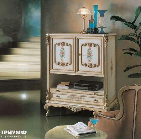Итальянская мебель Silik - Тумба под ТВ с 2-мя створками