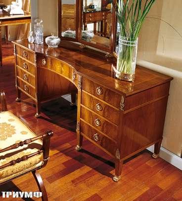 Итальянская мебель Colombo Mobili - Туалетный столик с зеркалом арт.298 кол. Bellini