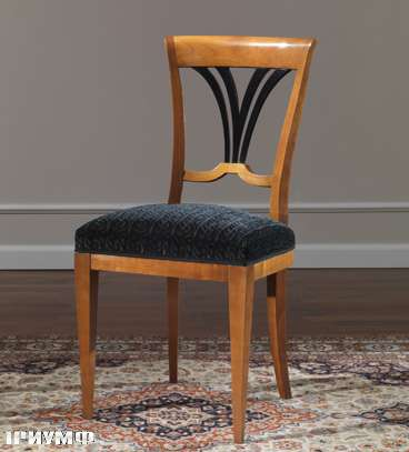 Итальянская мебель Colombo Mobili - Стул в стиле Бидермайер кол. Rossini