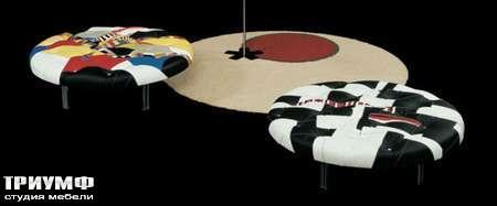Итальянская мебель Il Loft - пуф patchwork