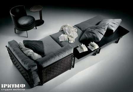 Итальянская мебель Flexform - sofa cestone