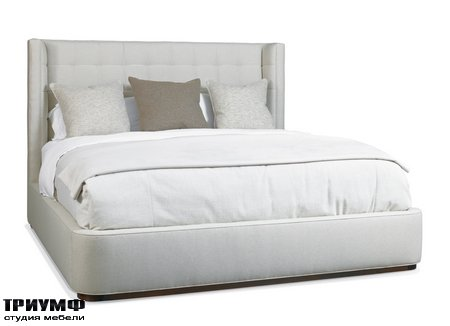 Американская мебель Hickory White - Dana King Upholstered Bed
