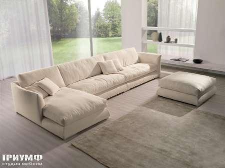 Итальянская мебель CTS Salotti - Диван пуховой современный, модель Open