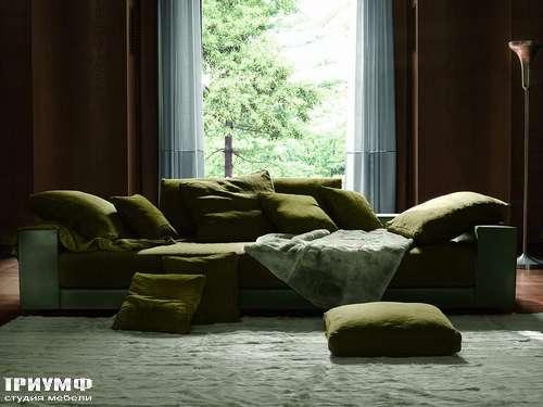 Итальянская мебель Ivano Redaelli - Диван кожаный, глубокий