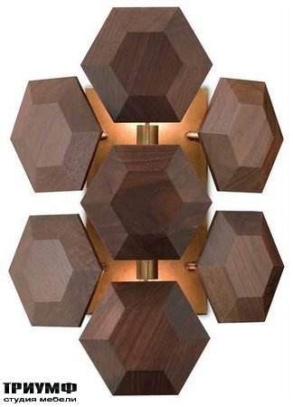 Американская мебель Currey and Company - Honeycomb Wall Sconce