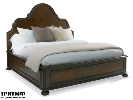 Американская мебель Hickory White - Francesca Panel King Bed
