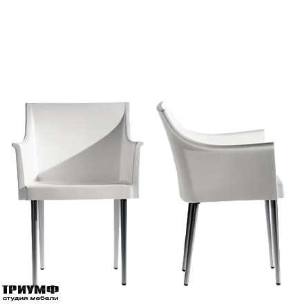 Итальянская мебель Driade - Кресло в белой ткани