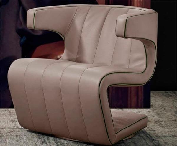 Итальянская мебель Gamma Aredamenti - Кресло Dean