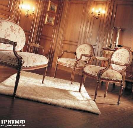 Итальянская мебель Jumbo Collection - Стул с подлокотником коллекция Clarissa