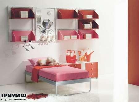 Итальянская мебель Di Liddo & Perego - Подвесные полки в матовом лаке