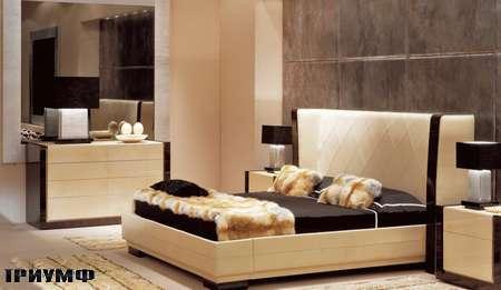 Итальянская мебель Ulivi  - кровать-SAVOY EBANO