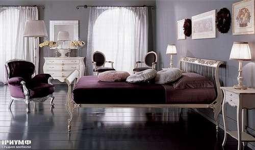 Спальня с низким изголовьем Siche