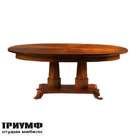 Итальянская мебель Morelato - Стол на двойной декоративной ноге
