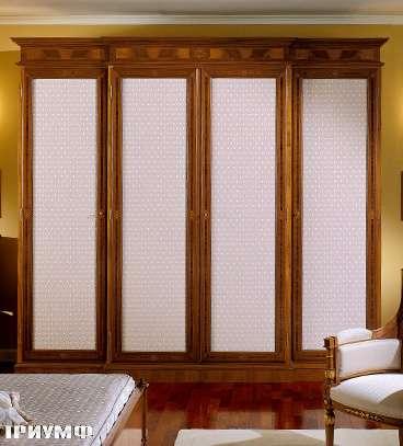 Итальянская мебель Colombo Mobili - Шкаф 4х дверный арт.400.4 кол. Ponghielli