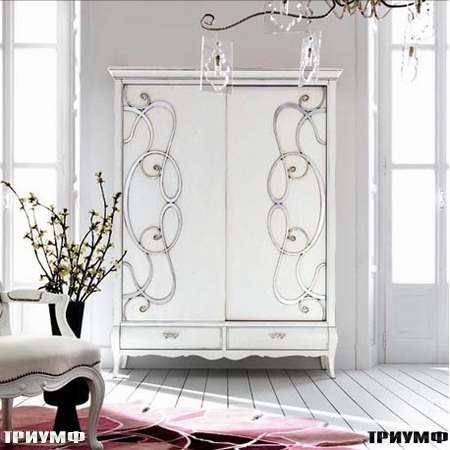 Итальянская мебель Flai - Шкаф с орнаментом коллекция classic, размером