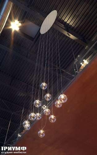 Итальянская мебель Reflex Angelo - Люстра Bulles HR, подвесные светящиеся шары