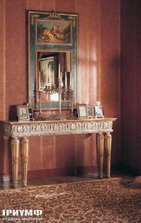 Итальянская мебель Jumbo Collection - Консоль резная Four Seasons