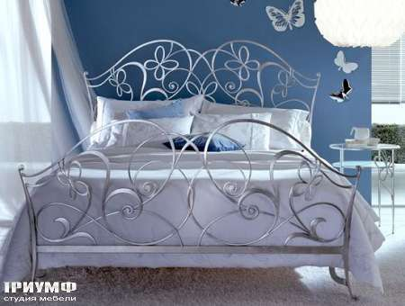 Итальянская мебель Ciacci - Кровать Papillon