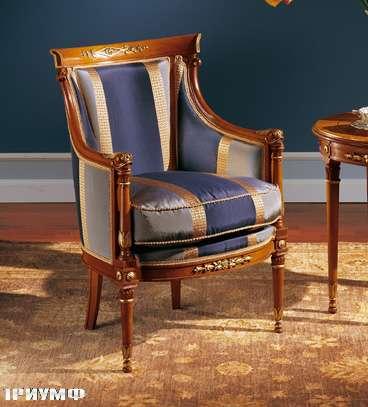 Итальянская мебель Colombo Mobili - Крело в имперском стиле арт.119 кол. Puccini