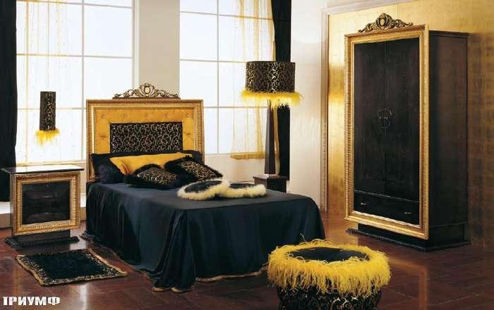 Итальянская мебель Altamoda - Кровать с короной