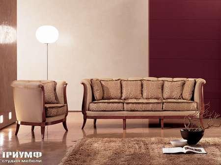 Итальянская мебель Medea - Диван классический на 8 ножках