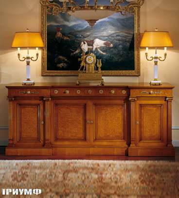 Итальянская мебель Colombo Mobili - Буфет в имперском стиле арт.318 кол. Corelli