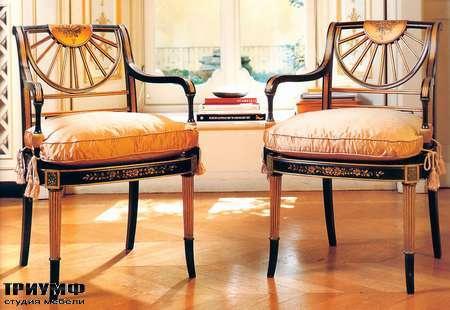 Итальянская мебель Galimberti Nino - стул с подлокотниками NL.580