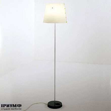 Итальянская мебель Driade - Торшер с абажуром Twist&light