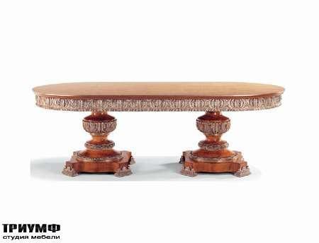 Итальянская мебель Jumbo Collection - Стол овальный коллекция Four Seasons