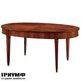 Итальянская мебель Morelato - Стол овальный на ножках