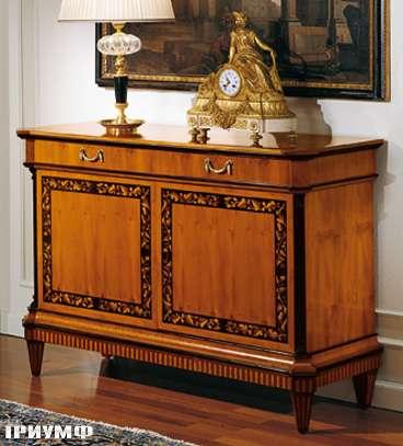 Итальянская мебель Colombo Mobili - Буфет в стиле Бидермайер арт.143 кол. Rossini