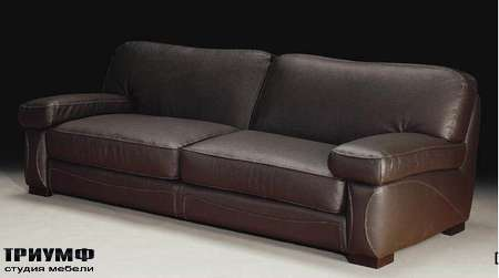 Итальянская мебель Formitalia - Диван кожаный Boston