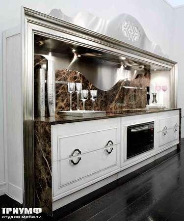 Итальянская мебель Grande Arredo - Кухня Etra с мраморной столешницей