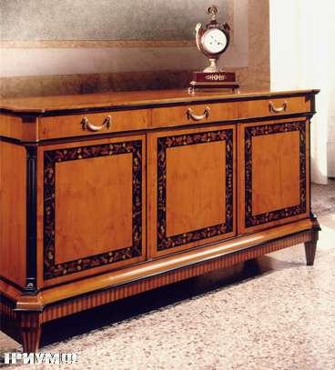 Итальянская мебель Colombo Mobili - Буфет в стиле Бидермайер арт.144 кол. Rossini