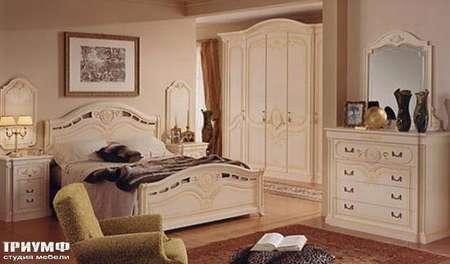 Итальянская мебель Ferretti e Ferretti - Изящная спальня Rebecca