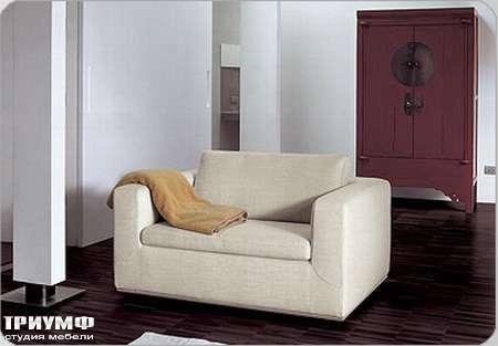 Итальянская мебель Bonaldo - кресло раздвижное Boston со съемным чехлом