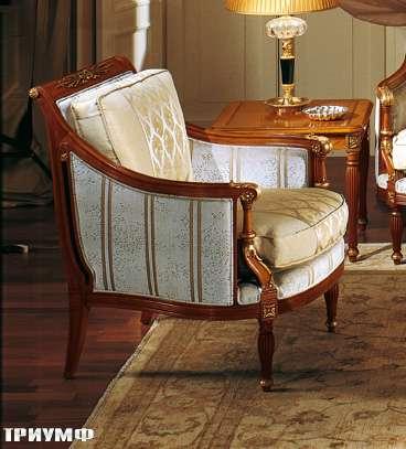 Итальянская мебель Colombo Mobili - Кресло арт.273.Р кол. Vivaldi