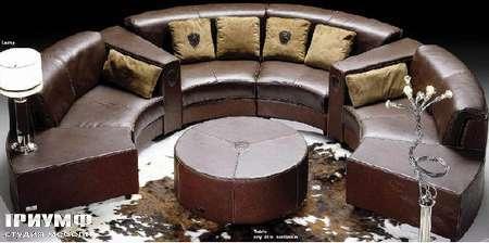 Итальянская мебель Formitalia - Диван круглый Circuit