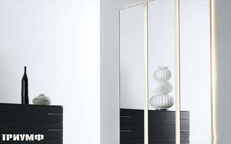 Итальянская мебель Presotto - зеркало Domino