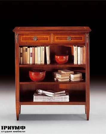 Итальянская мебель Medea - Тумба классическая с ящиками и открытыми отделениями, арт. 437