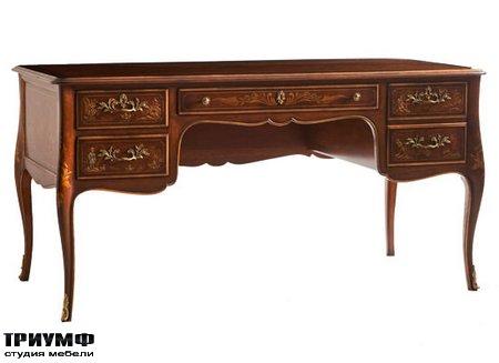Американская мебель Kindel - Desk with Hand Painted Decoration