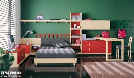 Итальянская мебель Julia - Кровать, модель oasis color