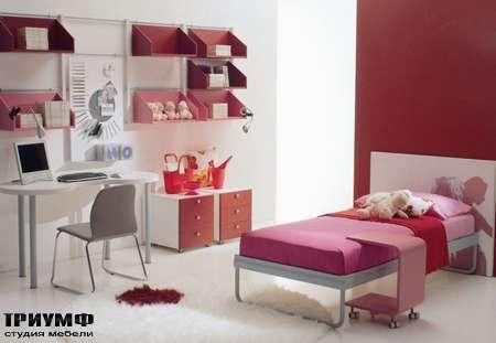 Итальянская мебель Di Liddo & Perego - Стол письменный овальный